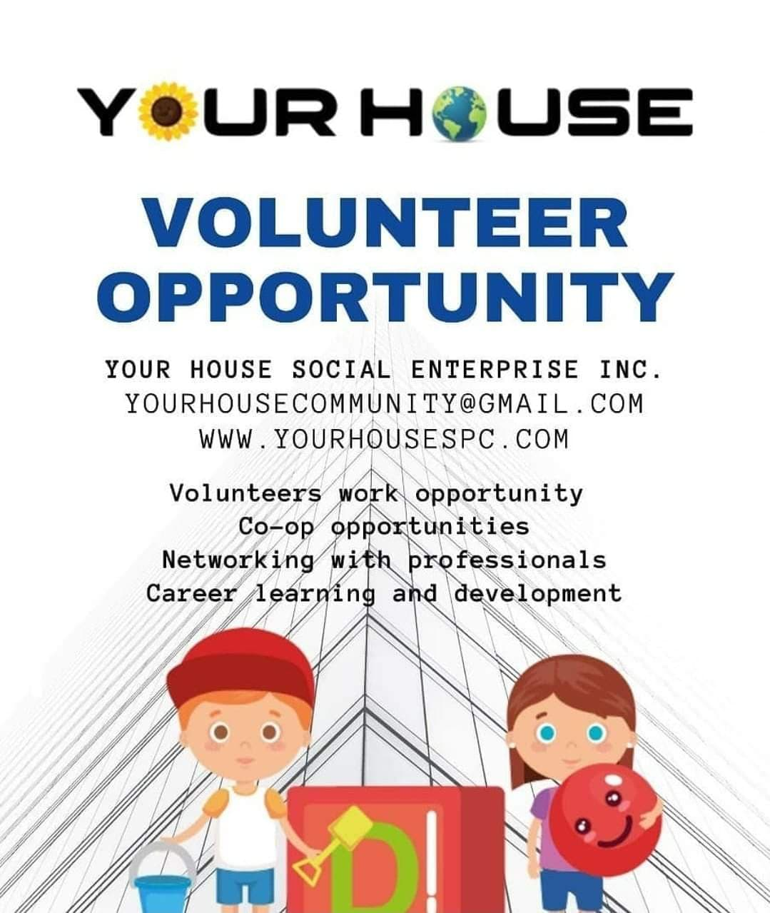 Your House Volunteer Opportunity